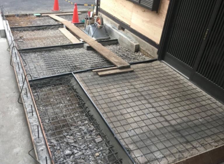 土間・駐車場